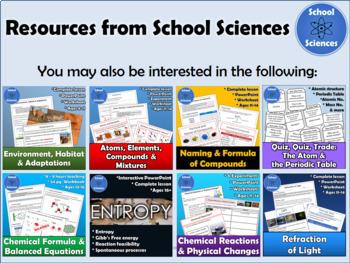 Atoms & the Periodic Table: Quiz, Quiz, Trade Activity HS-PS1-1