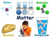 Matter: Atoms/Elements/Compounds/Molecules Lesson & Flashc