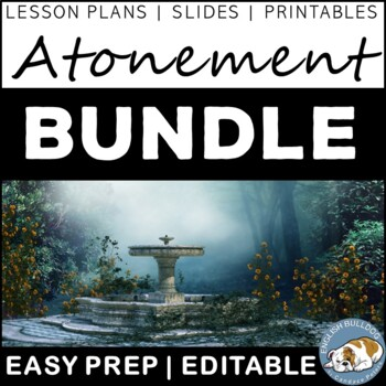 Atonement Activity Mini Bundle