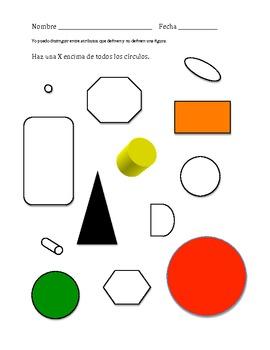 Atributos que definen una figura (forma) de 2-dimensiones