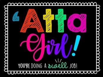 Atta Girl (or Boy) File Cover!