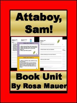 Attaboy, Sam! Novel Study