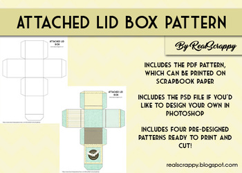 Attached Box Pattern & Photoshop Tutorial