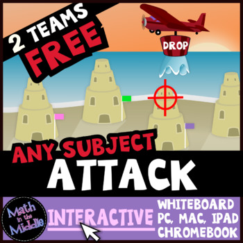 Attack Interactive - A FREE Review Game for Any Subject and Grade Level