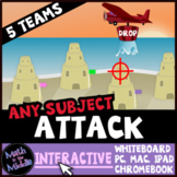Attack Interactive - A Review Game for Any Subject and Grade Level