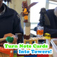 Attack The Barracks Research Note Card Building Bricks Review Game!