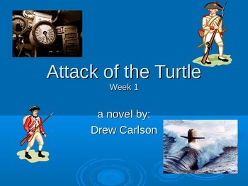 """Attack of the Turtle"" novel study week 1 power point"