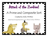 Attack of the Zombies! - A Prime and Composite Sort