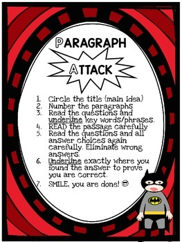 Attack the Paragraph