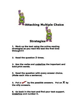 Attacking Multiple Choice Strategies