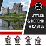 Attack a castle & defend a castle (medieval Europe) - Pres