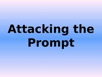 Attacking the Prompt-Onlevel