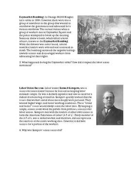 Attempts to Unionize (Homestead Strike)