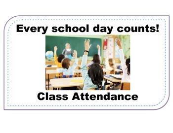 Attendance Poster