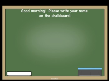 Attendance 2 September Interactive Smartboard Files