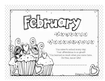 Attendance Award - February