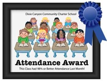 Attendance Award Poster