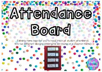 Attendance Board Package