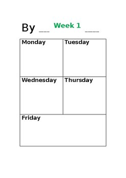 Attendance Booklet