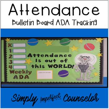 Attendance Bulletin Board - Tracking Classroom ADA