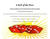 Non-Fiction Dice Activity