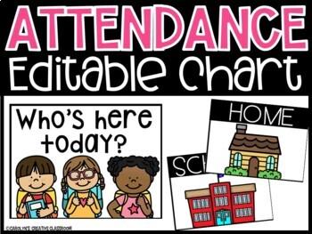 Attendance Chart & Attendance Board - MANY THEMES!