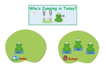 Attendance Chart Who's Jumping in Today?