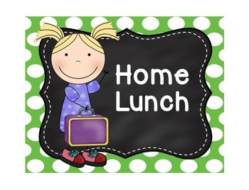 Attendance Chart with Lunch Chart