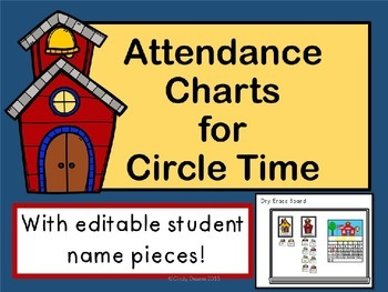 Attendance Charts for Circle Time