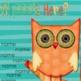 Attendance Check-In - Smartboard  *OWL THEME*