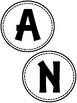 Attendance Circle Bulletin Board Letters