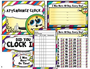 Attendance Clock: A Proactive Way to Managing Classroom Attendance