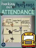 Attendance Data Monthly Collection Sheets {Dog-Themed}