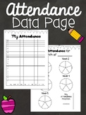 Attendance Data Page - Month and Year Forms