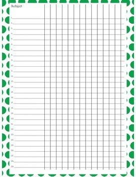 Dots Attendance List