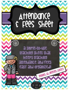 Attendance & Fees Sheet-Updated
