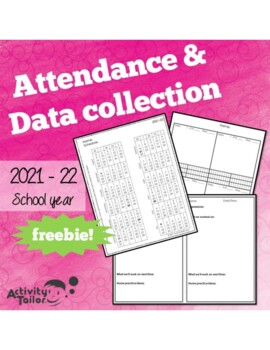 Attendance Form and Data Collection for Speech Therapy 2018-19 FREEBIE