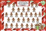 Attendance Gingerbread Interactive Smartboard Morning