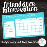 Monthly Attendance Goal Tracker for Students/Teachers