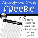 Attendance Goals Freebie