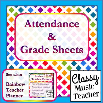 Attendance & Grade Sheet