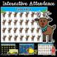 Attendance Interactive PowerPoint Growing Bundle