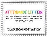 Attendance Letters