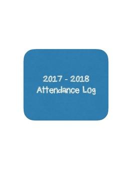Attendance Log 2017 - 2018