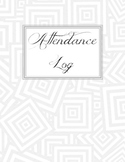 Attendance Log / Tracker EDITABLE