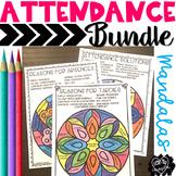 Attendance Mandalas Bundle