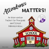 Attendance Matters - Parent Letter Intervention Packet