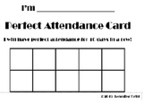 Attendance Punch Card