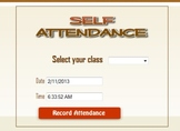 Attendance Recording Web-based Software