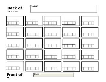 Attendance Seating Chart (adjustable)
